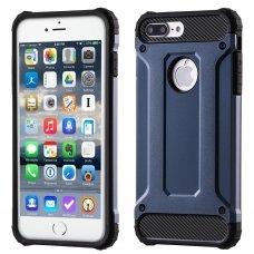"""Tvirtas Apsauginis Dėklas Iš Tpu Ir Pc Plastiko """"Hybrid Armor Rugged"""" Iphone 7 Plus Navy"""