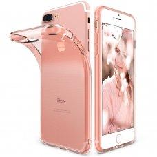 """Skaidrus """"Ringke Air Ultra-Thin"""" Tpu Gelinis Dėklas Iphone 8 Plus / 7 Plus Rose Auksinis"""