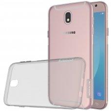 """Skaidrus Tpu Dėklas 0.6 Mm """"Nillkin Nature Tpu"""" Samsung Galaxy J5 2017 J530 Pilkas"""