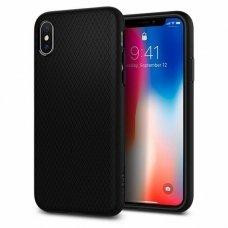 Aukštos Kokybės Dėklas Spigen Liquid Air Iphone X/Xs Matte Juodas