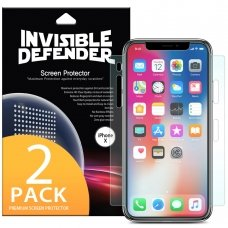"Apsauginių Plėvelių Rinkinys  ""Ringke Invisible Defender"" 2X Apple Iphone 11 Pro / Iphone Xs / Iphone X - Case Friendly (Ifap0003-Rpkg)"