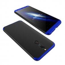"""Dviejų Dalių Plastikins Dėklas Apsaugantis Priekį Ir Galą """"Gkk 360"""" Huawei Mate 10 Lite Juodas-Mėlynas"""