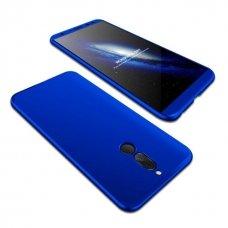 """Dviejų Dalių Plastikins Dėklas Apsaugantis Priekį Ir Galą """"Gkk 360"""" Huawei Mate 10 Lite Mėlynas"""