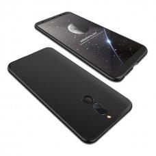 """Dviejų Dalių Plastikins Dėklas Apsaugantis Priekį Ir Galą """"Gkk 360"""" Huawei Mate 10 Lite Juodas"""