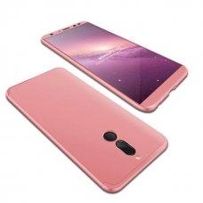 """Dviejų Dalių Plastikins Dėklas Apsaugantis Priekį Ir Galą """"Gkk 360"""" Huawei Mate 10 Lite Rožinis"""