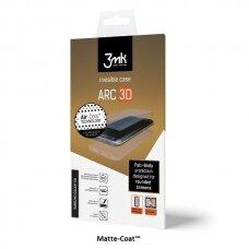 """Pilnai Dengia Ekraną Silikoninė Plėvelė """"3Mk Arc 3D"""" Pilnai Dengia Ekraną Xperia Xz Matte Priekis, Galas, Šonai 4"""
