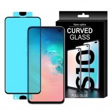 "Lankstus Nano Grūdintas Stiklas ""3D Edge Nano Hybrid"" Samsung Galaxy S10E Permatomas"