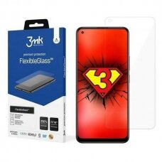 Apsauginis Ekrano Stiklas 3MK FlexibleGlass Lite Realme 8 Pro