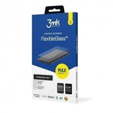 3MK FlexibleGlass Max Apsauginis Ekrano Stiklas Samsung A52/A52 5G juodas