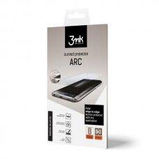 """Silikoninė Apsauginė Plėvelė """"3Mk Arc"""" Se Fs Huawei Mate 20 Pro Pilnai Dengia Ekraną"""