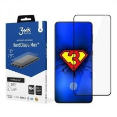 Apsauginis Stiklas 3MK HardGlass Max FP Sam G991 Samsung Galaxy S21 Juodas, FullScreen Glass