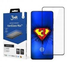 Ekrano apsauga 3MK HardGlass Max FP Sam G998 S21 Ultra Juodas FullScreen Glass