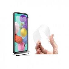3MK Lankstus stiklas Max Samsung A515 A51 juodas