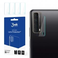 Kameros apsauginis stiklas 3MK Lens Protect Huawei P Smart 2021  4 vnt.