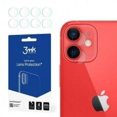 3MK Lens Protect apsauginis kameros stikliukas 4 vnt. iPhone 12 Mini