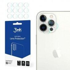 Kameros apsauginis stiklas 3MK Lens Protect kameros apsauginis stikliukas 4 vnt. iPhone 12 Pro Max