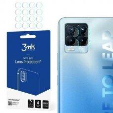 Fotoaparato Objektyvo Apsauga 4vnt. 3MK Lens Protect Realme 8 Pro