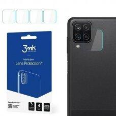 3MK Lens kameros apsauginis stikliukas 4 vnt. Samsung A125 A12