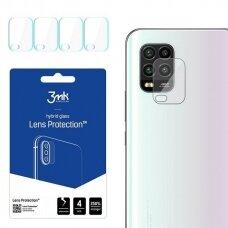 3MK Lens Protect Xiaomi Mi 10 Lite 5G Ochrona na obiektyw aparatu 4szt