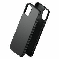 3MK Matt matinis dėklas Huawei P40 Lite E juodas