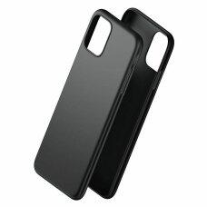3MK matinis dėklas iPhone 11 Pro juodas