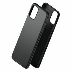 3MK Matinis dėklas Samsung A515 A51 juodas UCS025