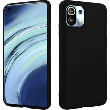 Dėklas 3MK Matt Case Xiaomi Mi 11 5G Juodas