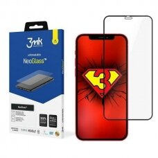 """3MK NeoGlass iPhone 12 Mini 5,4"""" juodas"""