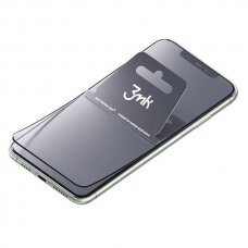 3MK NeoGlass apsauginis stiklas iPhone SE 2020 juodais kraštais