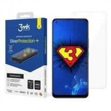 3MK Silver Protect+ Realme 8 Pro Folia Antimikrobinė Apsauginė Ekrano Plėvelė