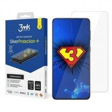 3MK antimikrobinė apsauginė ekrano plėvelė Silver Protect+ Sam G991 S21