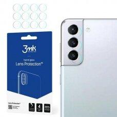 Kameros apsauga 4vnt. 3MK Lens Protect Samsung Galaxy S21 telefonui