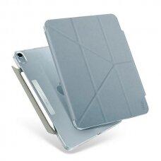 Dėklas atsparus mikrobams UNIQ Camden iPad Air 2020 melsvas