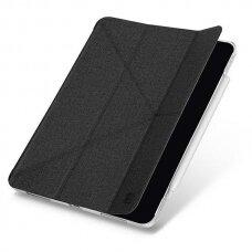 Dėklas UNIQ Yorker Kanvas iPad Air 2020 juodas