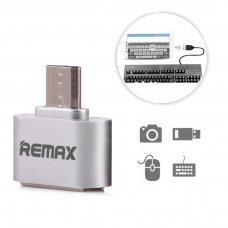 Usb Otg Adapter Remax Silver