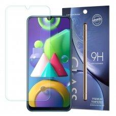 Apsauginis Stiklas 9H  Iki Išlenkimo Samsung Galaxy M21