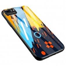 Spalvotas Apsauginis Dėklas Color Glass Iphone 7/ Iphone 8/ Iphone Se 2020 Pattern 1