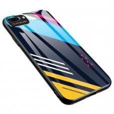 Spalvotas Apsauginis Dėklas Color Glass Iphone 7/ Iphone 8/ Iphone Se 2020 Pattern 2