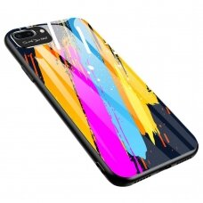 Spalvotas Apsauginis Dėklas Color Glass Iphone 7/ Iphone 8/ Iphone Se 2020 Pattern 3
