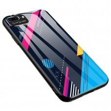 Spalvotas Apsauginis Dėklas Color Glass Iphone 7/ Iphone 8/ Iphone Se 2020 Pattern 4