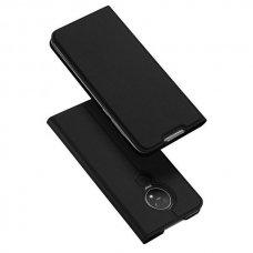 """Atverčiamas Dėklas """"Dux Ducis Skin Pro"""" Pu Oda Nokia 7.2 / Nokia 6.2 Juodas"""