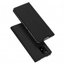 """Atverčiamas dėklas """"DUX DUCIS Skin Pro"""" PU oda Samsung Galaxy S10 Lite juodas"""