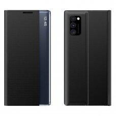 Atverčiamas dėklas New Sleep Case Bookcase Samsung Galaxy A02s Juodas