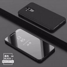 """Atverčiamas Plastikinis Dėklas """"Sview"""" Huawei Mate 20 Lite Juodas"""
