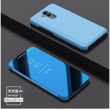"""Atverčiamas Plastikinis Dėklas """"Sview"""" Huawei Mate 20 Lite Mėlynas"""