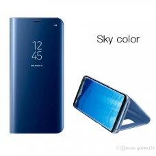 """Atverčiamas Plastikinis Dėklas """"Sview"""" Huawei P20 Lite Mėlynas"""