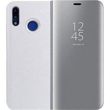 """Atverčiamas Plastikinis Dėklas """"Sview"""" Huawei P20 Lite Sidabrinis"""