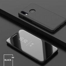 """Atverčiamas Plastikinis Dėklas """"Sview"""" Huawei Y6 2019 Juodas"""