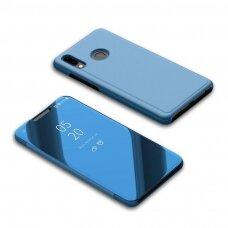 """Atverčiamas Plastikinis Dėklas """"Sview"""" Huawei Y6 2019 Mėlynas"""