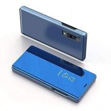 """Atverčiamas Plastikinis Dėklas """"Sview"""" Samsung Galaxy A7 2018 A750 Mėlynas"""